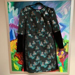 Eloquii dress with velvet